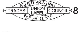 allied printing union label